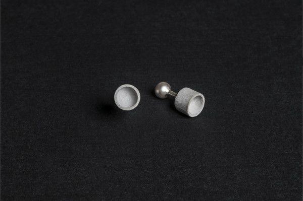 Micro Concrete Cufflinks #8   Price : €57 Euro