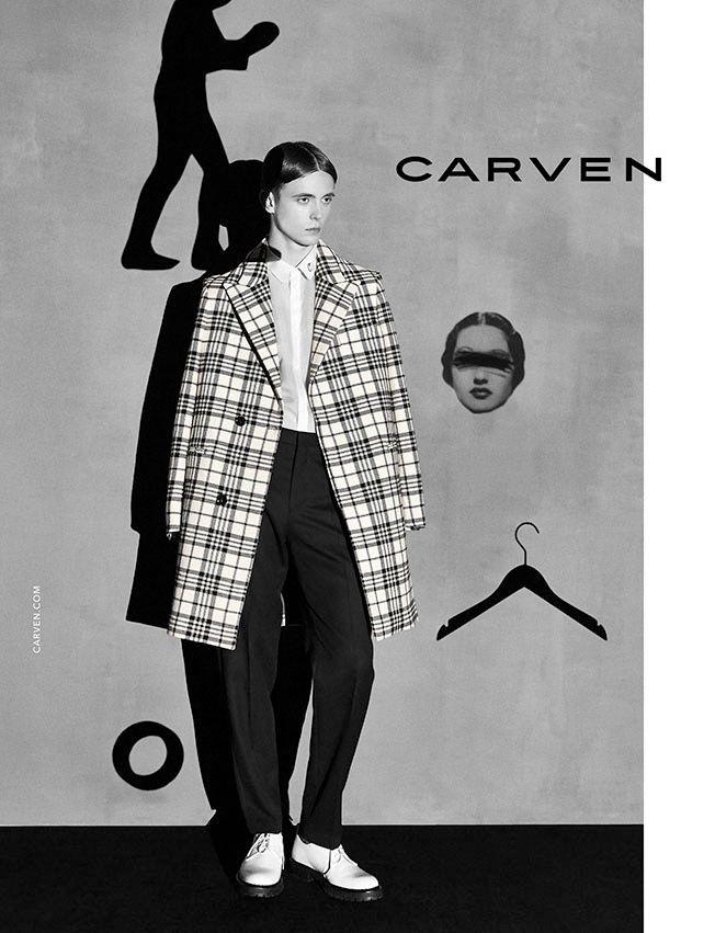 Carven Fall/Winter 2014 Campaign