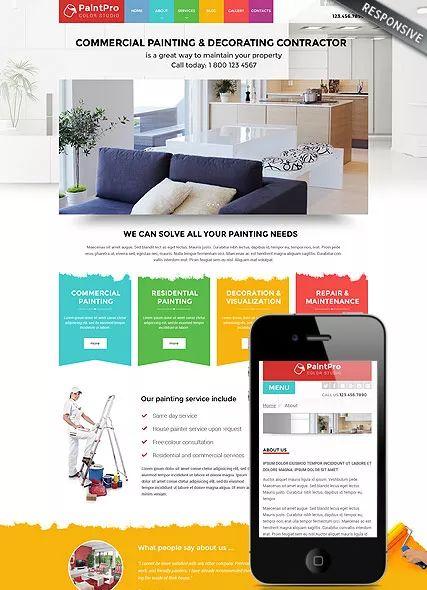 painting contractors websites