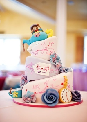 Alice in Wonderland. I have to have a topsey turvey cake