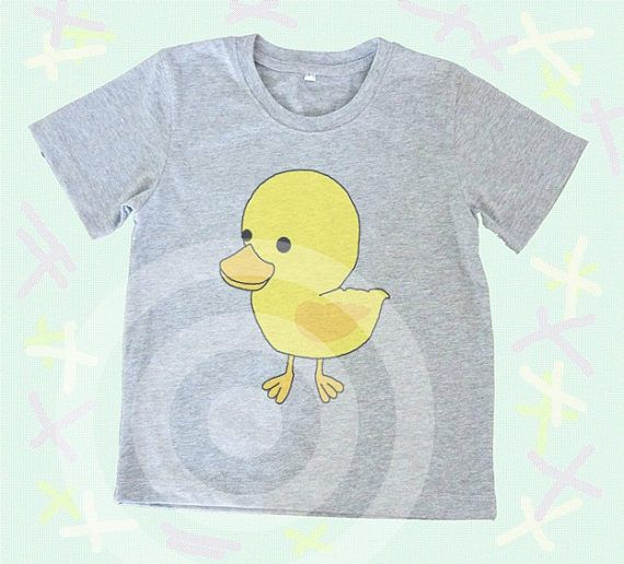 Duck shirt Kids tshirts Toddler tees Toddler shirts  Cute