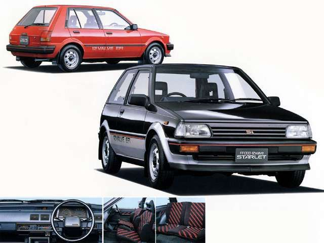 Toyota Starlet 3door Si Limited (1984)