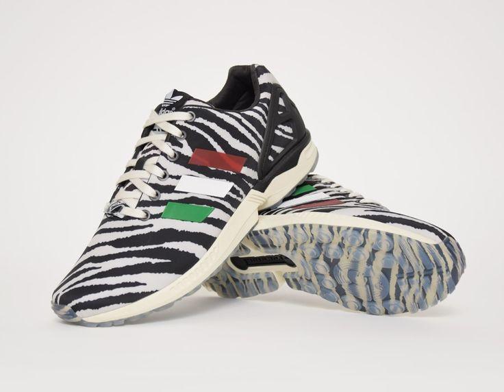 italia independent x adidas originals zx flux zebra