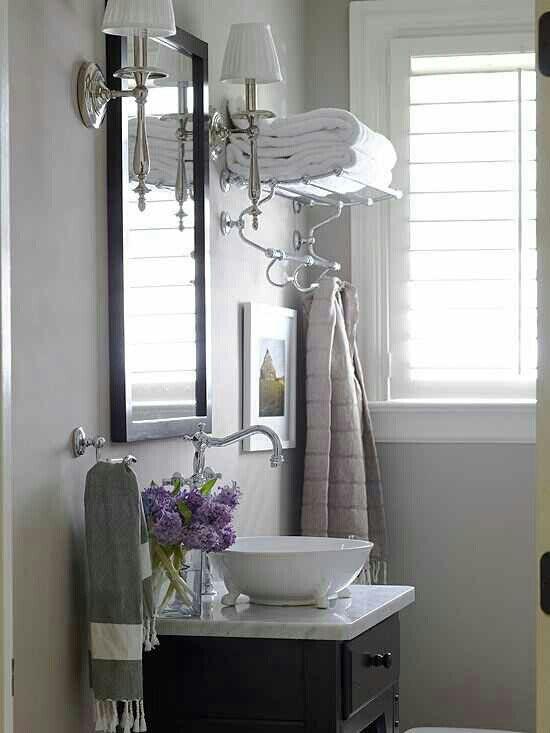 Small bathroom idea. 17 Best images about Cabana Bathroom Ideas on Pinterest   Towels
