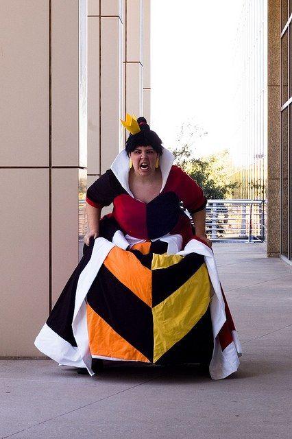 Classic Disney Queen of Hearts Cosplay - Alice in Wonderland. Cosplay for Moms.