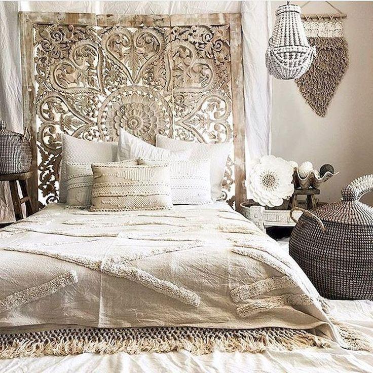 20 Romantic Bedroom Ideas: Bohemian Style Modern Bedroom Ideas (14)