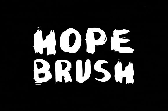 Hope Brush by SNK's on Creative Market