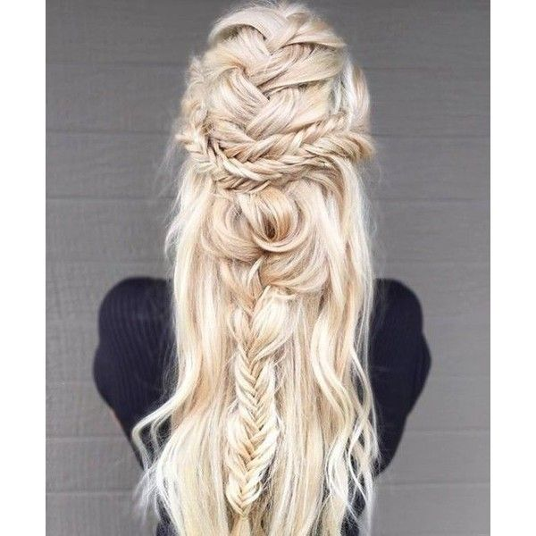 Hair accessory: back to school blonde hair long hair summer beauty... ❤ liked on Polyvore featuring accessories, hair accessories, prom hair accessories and long hair accessories
