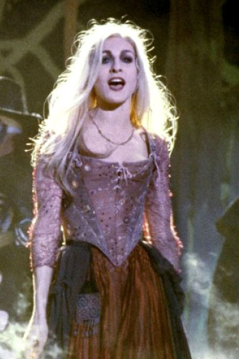 "Sarah Jessica Parker as Sarah Sanderson | This Is What The Cast Of ""Hocus Pocus"" Looks Like Now"