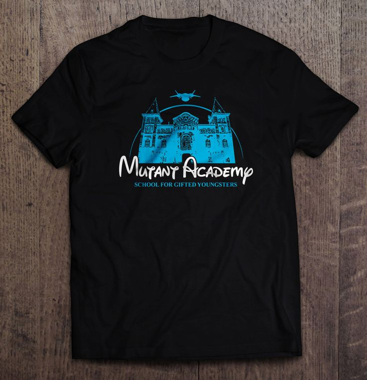 X-Men Mutant Academy Disney Parody T Shirt