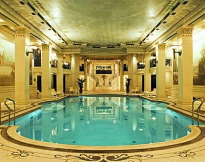 112 best indoor pools images on pinterest indoor pools for Pool design studio paris