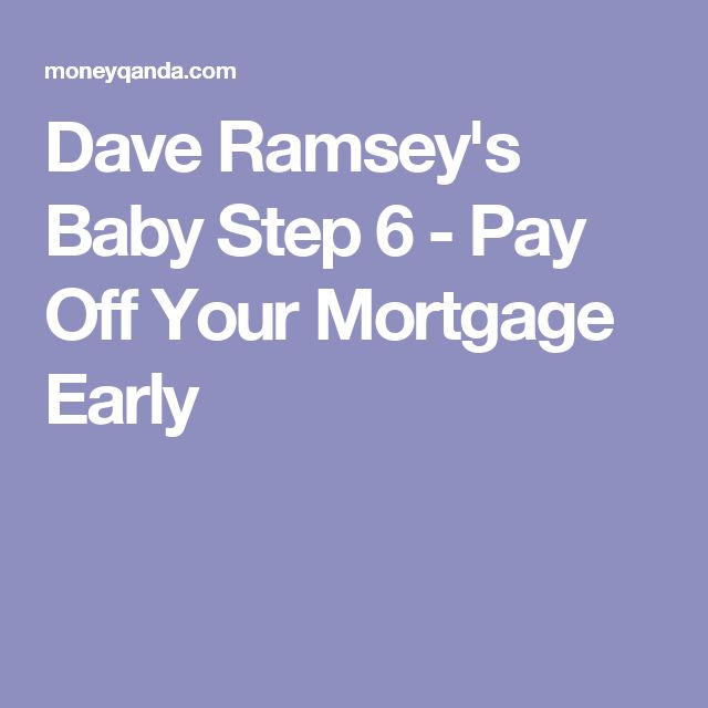 the 25 best dave ramsey mortgage ideas on pinterest dave ramsey steps debt free living and. Black Bedroom Furniture Sets. Home Design Ideas