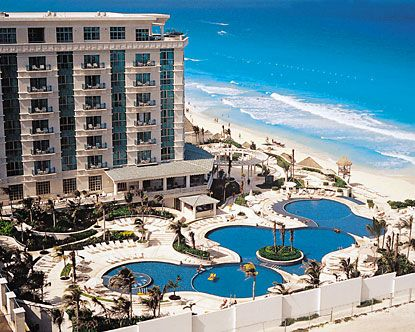 Le Meridien Cancun-January 2005 and March 2007-