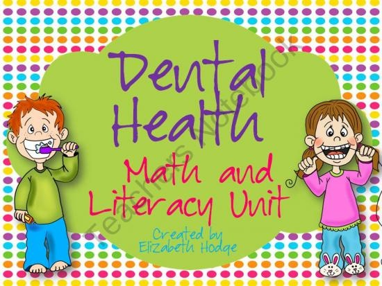 Your Students Will Love These Literacy Activities During Dental Health Month February