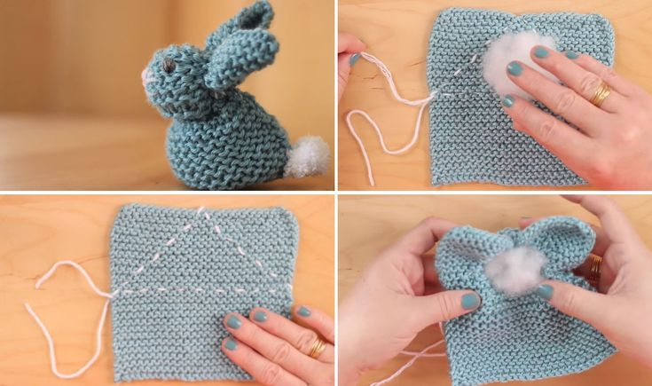 Let's learn how to make the simplest bunny. Crochet and knitting – both are fine with this project. Some of you who have visited my blog may have already seen a post where I share a great bunny tutorial which I found free on Ravelry. That tutorial was a beautiful one and probably any crafts… Read More Super Easy Bunny from a Square – Crochet or Knit
