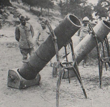 WW1 Trench mortars                                                                                                                                                                                 Plus