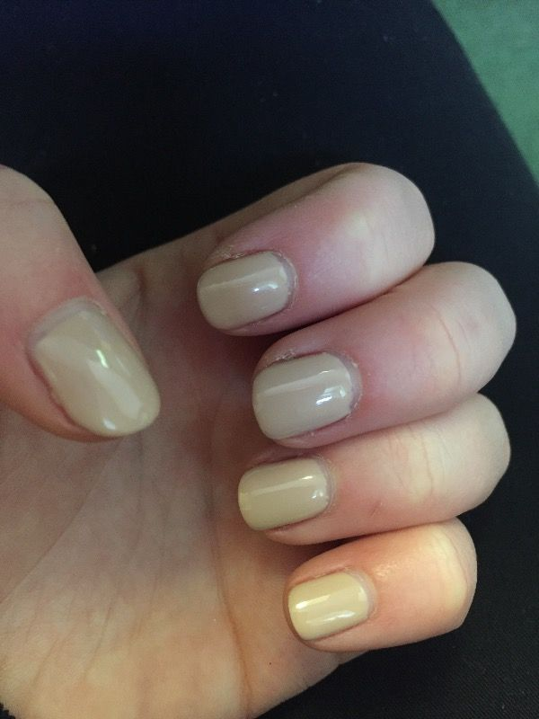 Thank you for my lovely nude colour nails I love them x