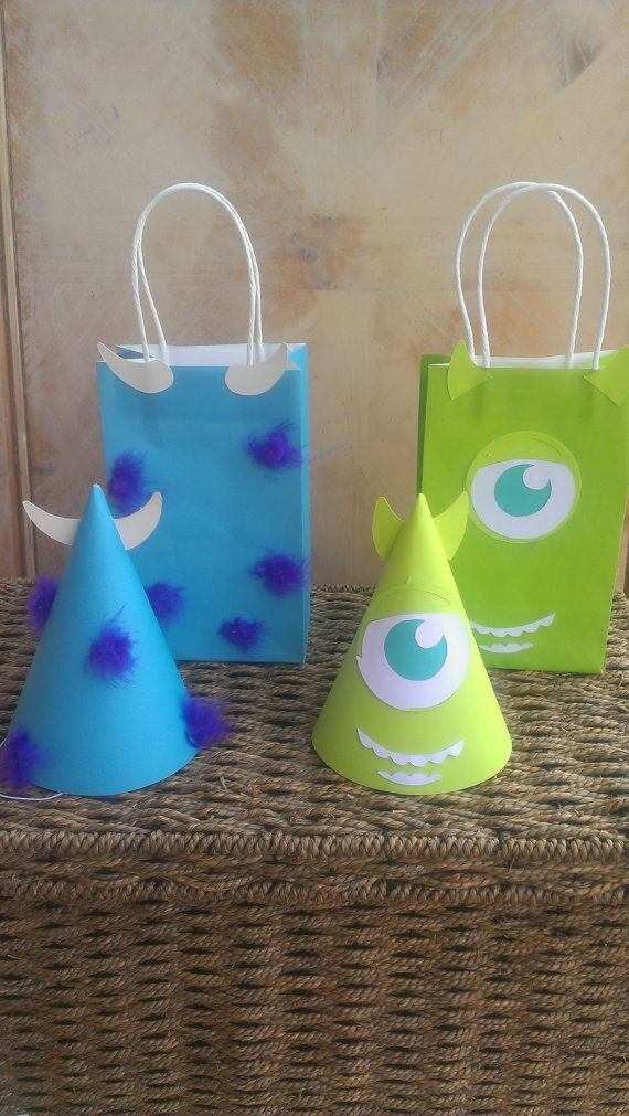 8 Monsters Inc or Monster's University Birthday by MagicalBoutique