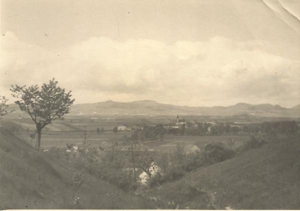 Černčice od jihu (1950)