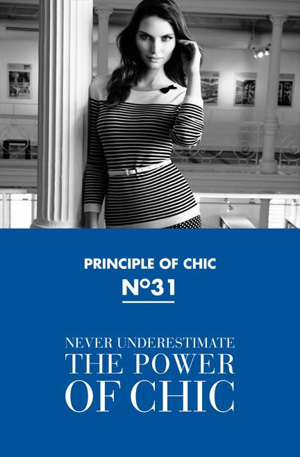 Principle of chic number 31 #JACOBCHIC