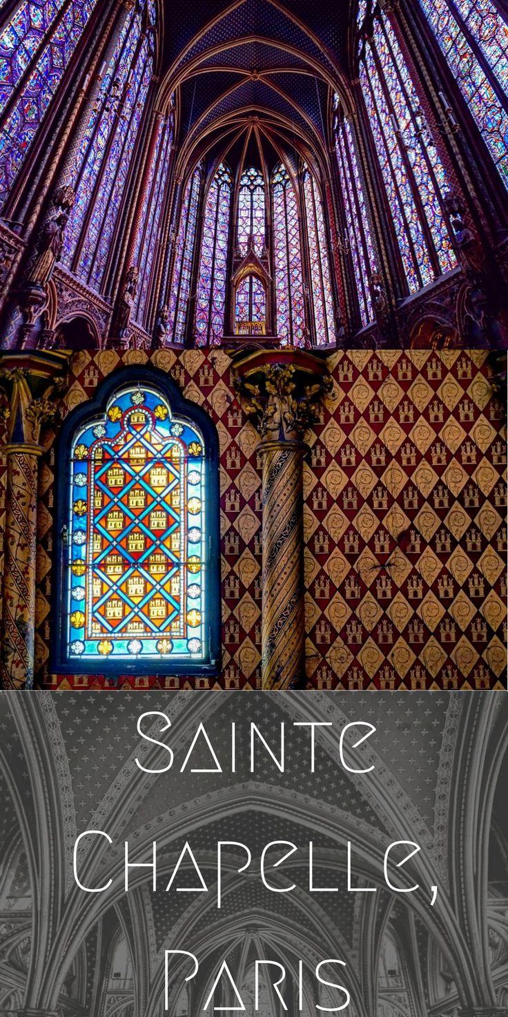 sainte chapelle paris france