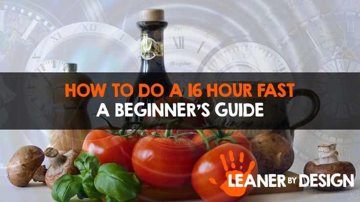 The 16 hour fast is probably one of the easiest and most intuitive fasting styles. Get a free infographic and meal plans in this easy how-to guide.