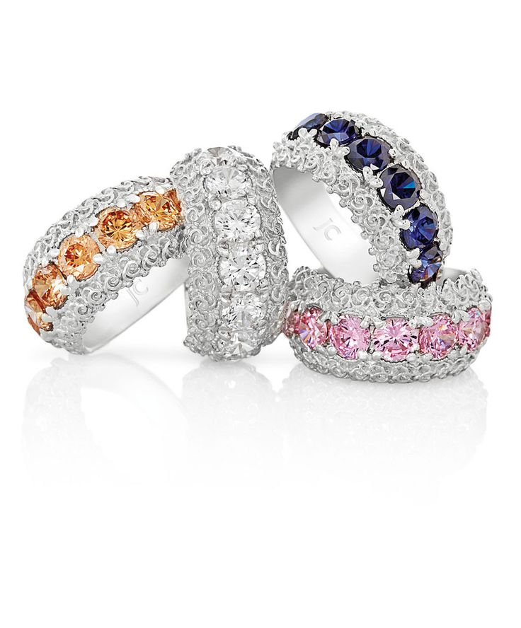Victoria Dress Ring #JennaClifford So beautiful. Would love the blue stoned one