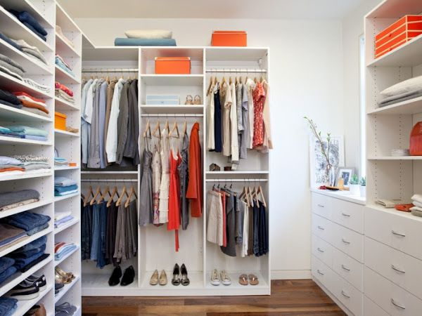 ideas para montar un vestidor en casa