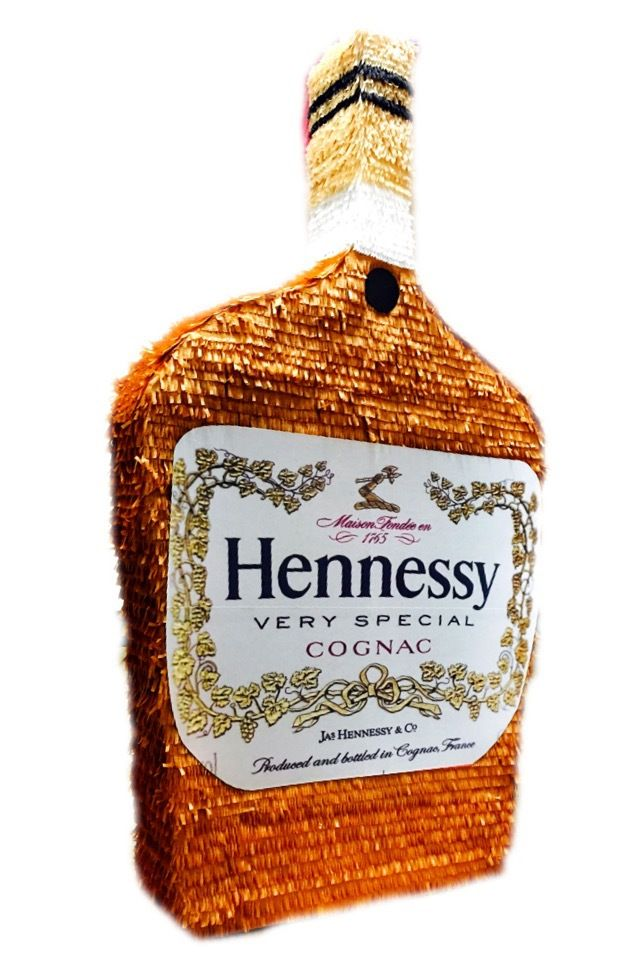 Custom handmade Hennessy Bottle Pinatas / Casa Pinatas Party Store Indio CA…