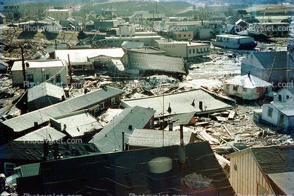 Valdez Downtown, 1964 Alaska Earthquake, Alaska Earthquake of 1964