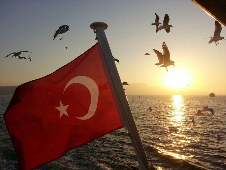 İzmir Vapur Manzarası :)