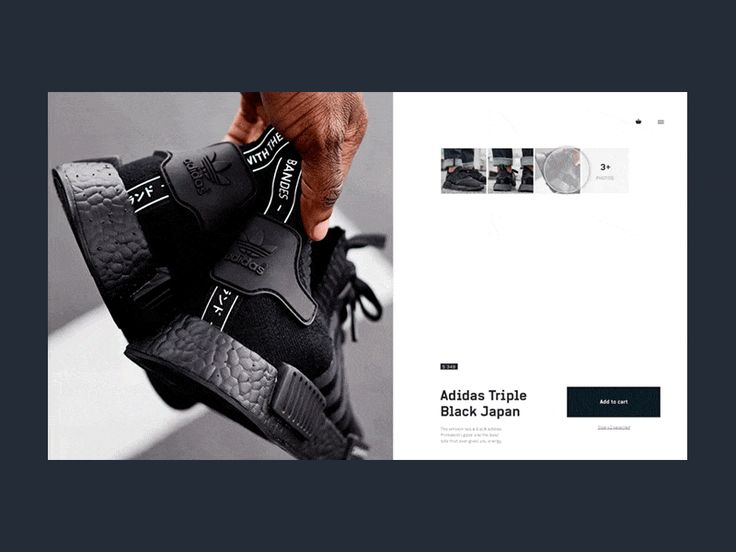 Sneakers add to cart by mario sestak