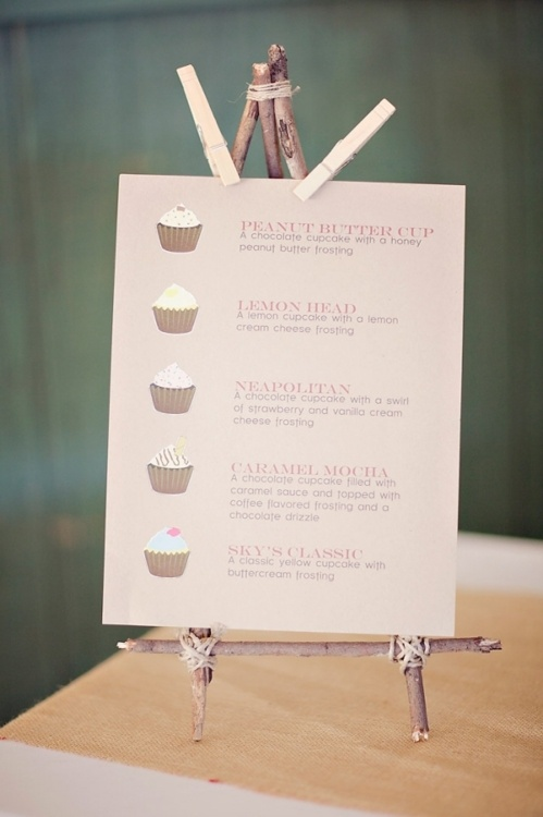 Cupcake Bar - @Nicole Novembrino H this would be great!