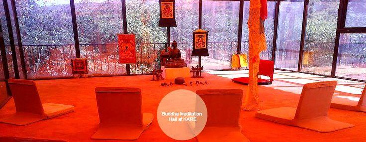 Budha meditation hall at Kare Ayurveda & Yoga Retreat