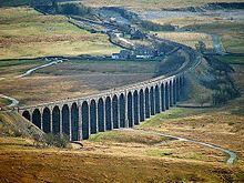 The Ribblehead Viaduct. Probably the most recognisable feature of the Settle-Carlisle Railway  Midland Railway - Wikipedia, the free encyclopedia aug16