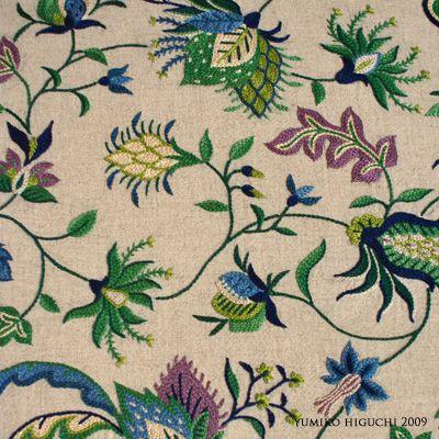 Flower Pattern2 個展に向けての作品。夏の植物