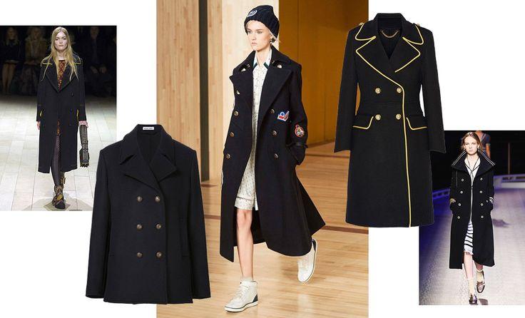 Нью-Йорк и Лондон рапортуют: осенью будем носить двубортные пальто, как заправские моряки и артиллеристы