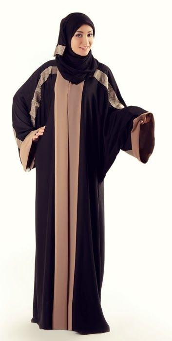 Alkaram Qadri Abaya Designs 2014 - Al Karam Abaya Collection Saudi Arabia