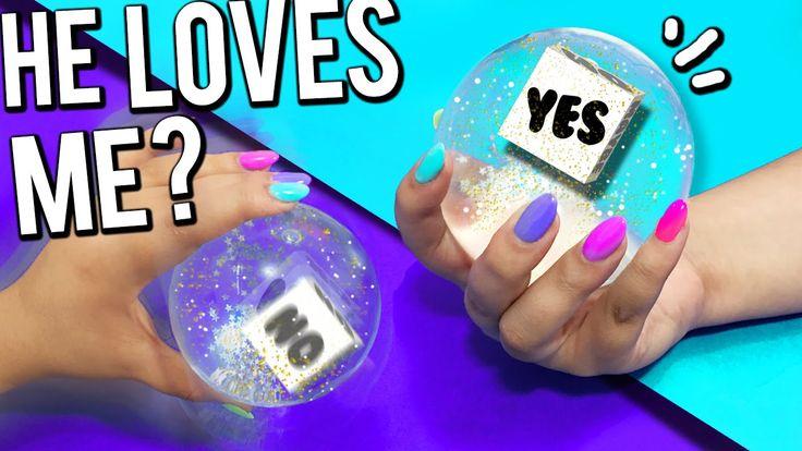 """DIY """"MAGIC 8 BALL"""" - Ask the MAGIC Ball!"""