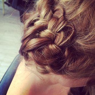 Plait... Hippy....bridesmaids hair up