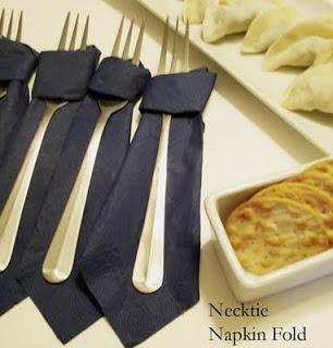 Tie Napkin Fold
