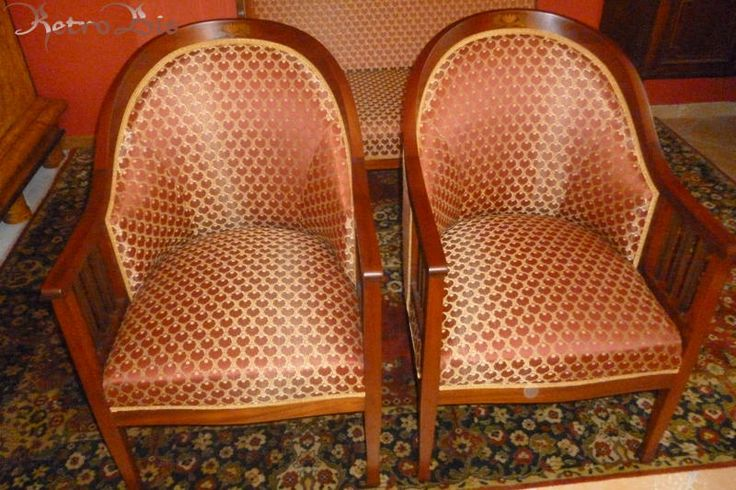 Fotel 16 2 sztuk - Antyki - RETRO-BIS - antyki, stare meble, Powróćmy jak za dawnych lat...