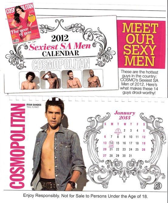 Cosmo Sexiest Men Calendar 2012