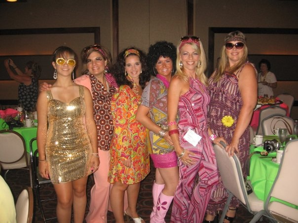 We are ready for the 70's Disco!