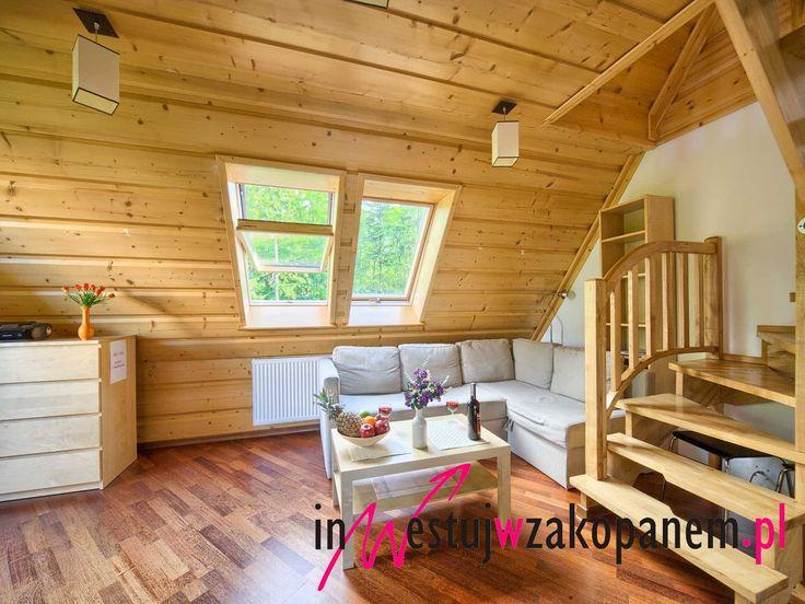 Apartament Na sprzedaż w Centrum Zakopanego 40m2, balkon, 2 poziomy.  Szeroki wybór lokalizacji. Nieruchomości z rynku wtórnego i pierwotnego. tel: 791 35 45 08, kontakt@inwestujwzakopanem.pl