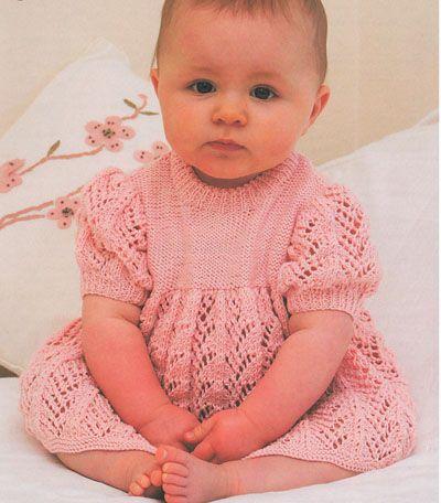 baby knit lace dress