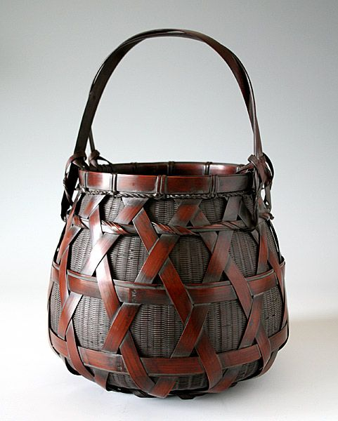 Japanese bamboo basket