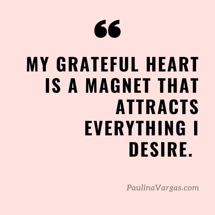 Affirmation: My Heart is a Magnet that Attracts Everything I Desire