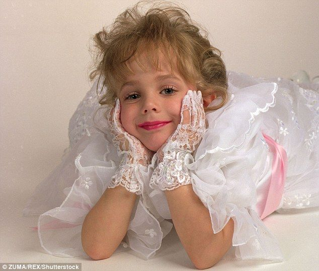 Case solved?: The private investigator hired by John and Patsy Ramsey to find out who killed their daughter JonBenet (above) claims it was Michael Helgoth