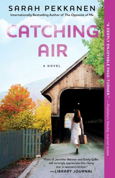 5/6/2014 Catching Air by Sarrah Pekkanen --A chance to run a BB in snowy, remote Vermont—it's an offer Kira Danner can't resist after six soul-crushing years of working as a lawyer in Florida. As Kira and her husband, Peter, step into a brand new life, she quells her fears about living with the BB's co-owners: Peter's sexy, irresponsible brother Rand, and Rand's wife, Alyssa…who is essentially a stranger.  For her part, Alyssa sees taking over the BB as the latest in a string of ...